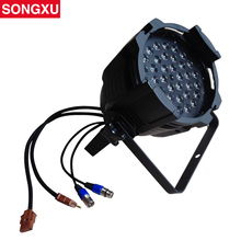 SONGXU High Quality constant current 36*3w RGB Led Par Cans Stage Par Light/SX-PL3603