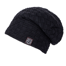 Winter hats for men bonnet homme casual cap winter hat hats for women Super cool Skull pattern hats for men beanies Knitted wool(China)