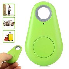 Mini Smart Bluetooth 4.0 Low Energy Anti-Lost Alarm Wireless Remote Shutter GPS Tracker Alarm Keychain for Kids,Keys,Pets,etc.