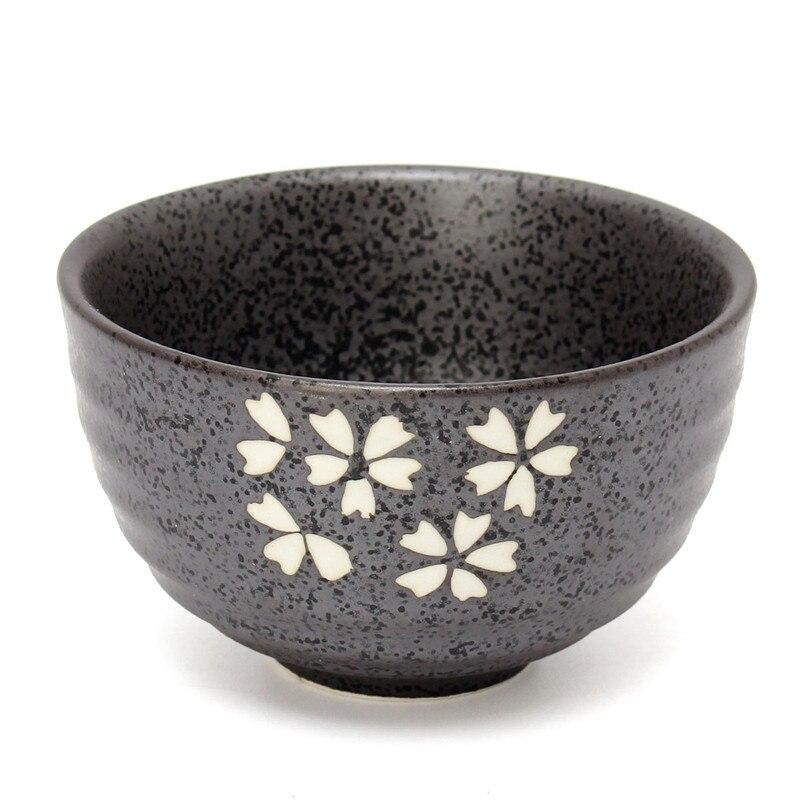 4Pcs/Set Tea Service Bamboo Natural Matcha Green Tea Powder Whisk Scoop Ceramic Bowl Set Japanese Teaware Ceremony 4