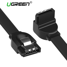Ugreen SATA Cable 3.0 to Hard Disk Drive SSD HDD Sata 3 Straight Right-angle Cable for Asus MSI Gigabyte Motherboard Cable Sata(China)