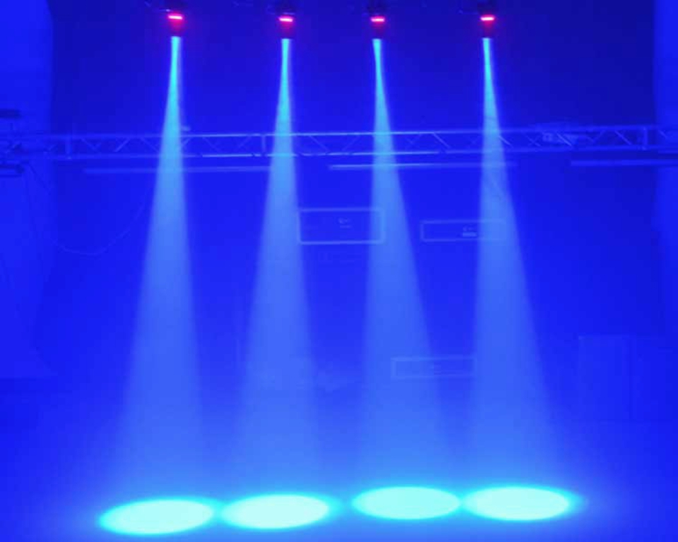 10pcs/Lot, Cree lamps Disco Light 10W RGBW LED Pin Spot Light DMX KTV,Bar,Party, led Crystal ball light dj led pin spotlight<br><br>Aliexpress