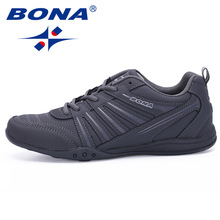 BONA New Arrival Popular Style Men Running Shoes Outdoor Walking Jogging Shoes Lace Up Sport Shoes Comfortable Athletic Shoes