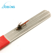 Bobing Hot sale Diamond Fishing Hook Hone Fishook Sharpening Fishing Tackle Box Accessory Tool Easy To Use