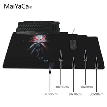MaiYaCa The Witcher 3 Mouse Pad Ultimate Gaming Mousepad Natural Rubber Gamer Mouse Mat Pad Game Computer Desk Pad Mouse Play Ma(China)