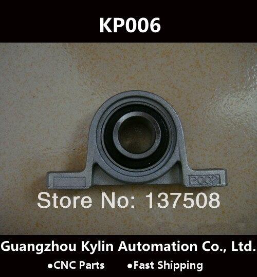 Hot!5 pcs KP006 30mm pillow block bearings insert bearing shaft support Zinc Alloy mounted pillow block bearings<br><br>Aliexpress