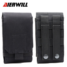 Aierwill Outdoor Sports Holster Hook Loop Army Belt For Oukitel U16 MAX  Phone Case Cover Bag Pouch For Oukitel K6000 Plus