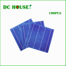 DC HOUSE 100pcs 6x6 Poly Crystalline Solar Cells for DIY 320w Solar Charger for 12v System Solar Generators