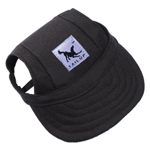 Practical Boutique TAILUP Pet Dog Puppy Baseball Visor Hat Peaked Cap Sunbonnet Outdoor Topee Summer S Black(China)