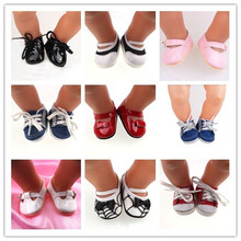 9 new style shoes Wear fit 43cm Baby Born zapf, Children best Birthday Gift free shipping(China)