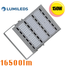 600W HPS CFL Fluorescent Lamp Replacement SMD3030 150W LED Floodlight Outdoor Landscape Commercial Light Fixture Daylight 5000K