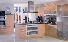 melamine/mfc kitchen cabinets(LH-ME030)(China)