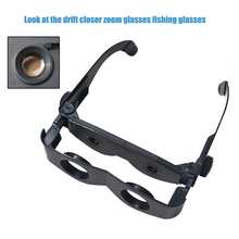 Portable Magnifying Glasses Plastic Lens Magnifier Binoculars Telescope For Watch Football Match Outdoor Fishing Hiking