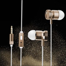 Earphone Headphone Metal Headset Earbuds With Mic for Ergo SmartTab 3G 5.0 5.5 6.0(China)