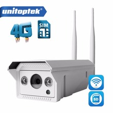 1080P 720P 3G 4G SIM Card Camera WIFI Outdoor HD Bullet Camera Wireless Night Vision IR 20M TF Card Slot APP CamHi