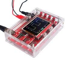 """DSO138 2.4 """"TFT карманное комплект цифровой осциллограф Комплектующие для самостоятельной сборки ручной + акрил Сделай Сам чехол Shell для DSO138(China)"""