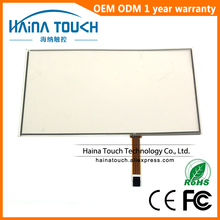 Win10 Compatible 16:9 12.1 inch computer monitor touch screen panel, 4 wire resistive USB touch panel digitizer(China)