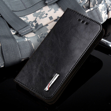 Durable reliable Microfiber Luxury High taste Nobility flip stents leather cell phone back cover kfor nokia lumia 925 case(China)