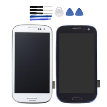For SAMSUNG Galaxy S3 Display i9300 i9300i Touch Screen Digitizer Replacement For SAMSUNG Galaxy S3 LCD Screen(China)