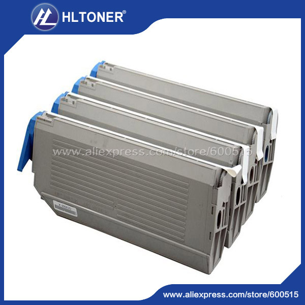 4pcs/set Remanufactured toner cartridge (41963609 41963610 41963611 41963612) for OKI C9300 C9500<br><br>Aliexpress