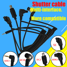 Camera accessories flash accessories C1 C3 N3 N1 S2 Shutter Cable FOR Canon Nikon Sony pentax A variety of Camera models apply(China)