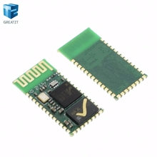 wholesale 10PCS hc-05 HC05 RF Wireless Bluetooth Transceiver Module RS232 / TTL to UART converter and adapter