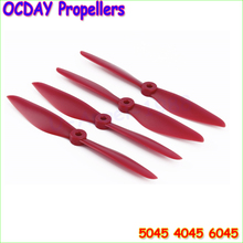 4pcs/lot Original OCDAY 5045 6045 Strengthen Props Propellers V2 CW CCW Propeller For Multi Copter Quadcopter (2 pairs )