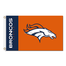 Denver Broncos Banner Flag World Series Football Team Super Bowl Champions Frank Tripucka John Elway Denver Broncos Flag