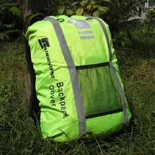 Outdoor cycling backpack Cover rainproof reflective waterproof riding backpack Cover Travel Bags climbing bag Cover dustproof(China)
