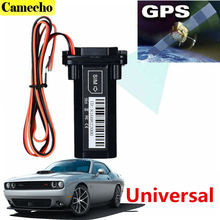 Waterproof GPS Tracker Vehicle Tracking Device Motorcycle Car Mini GPS GSM SMS locator with Real Time Tracking System Built-in