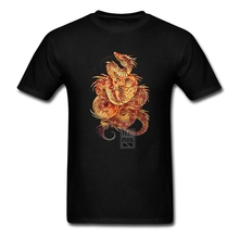 T Shirt Custom Design Dragon Ball Saiyan Red Curls Dragon Man Cotton Short Sleeve T shirt Funny Adult Art T Shirts