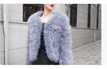 SJ012-01 France Stylish Slim Fur Coat Modern/Colored Cheap Fur Coats Women