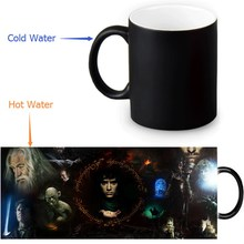 The Lord of The Rings Colour Change Morphing Mug Heat Sensitive Magic Morph Coffee Mugs 350ml/12oz(China)