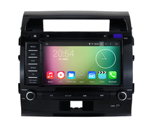 Quad Core 8 inch HD 1024X600 Android 5.1 Car DVD PC For Toyota Land Cruiser 200 2008-2012 GPS Navigation Radio BT Stereo system