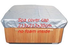 hot tub cover cap prevent snow, rain and dust,213cm x 213cm x 30 cm ,can customize spa, swim spa cover bag