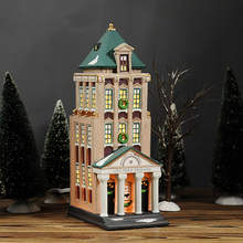 American City Stock Exchange Ornament Home Furnishing Ceramic Craft Decoration Children Gift(China)
