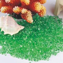 300G Aquarium Harmless landscaping Glass Sand Colorful Fish Tank Stone Decor Vase Decoration Aquarium Ornament Decor