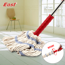 East Cleaning Tools Rotary Spin Twist Rotating Mop with Cotton Yarn Head for Housekeeper Home Floor Cleaning