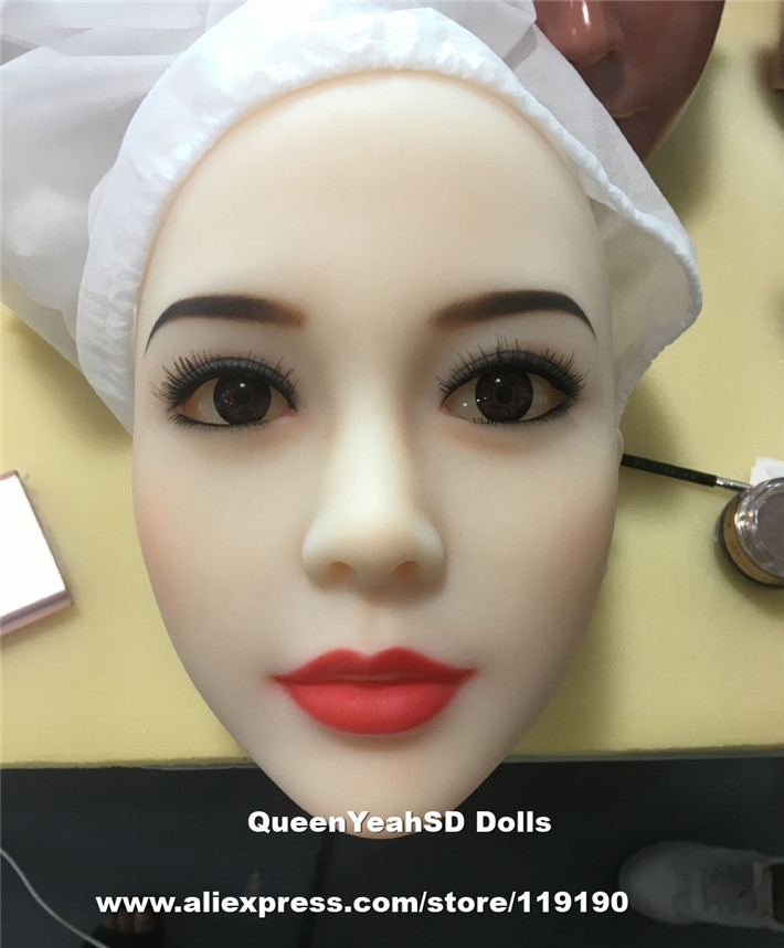 Top Quality Silicone Sex Doll Heads For Real Dolls Japanese lifelike Sexy Doll, Oral Sex Toy For Men