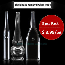 Black head removal Glass Tube parts relacement For Use With Vacuum Spray Facial Beauty Machine Blackhead remover