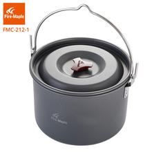 Fire Maple Campfire Pot Camp fire Stewing Car Camping Base Outdoor Bushcraft Cookware Picnic(China)