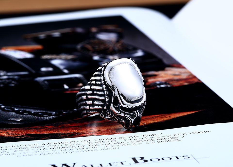 แหวนแนวๆ Code 051 แหวน Predator สแตนเลส เจ๋งมากๆ ส่งฟรี4
