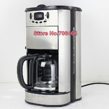 Drip coffee maker Household stainless steel fully automatic coffee machine/maker with built-in coffee grinder factory-outlet(China)