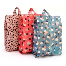 New Color Printing Waterproof Oxford Shoes Storage Portable Bag Women Men Travel Storage Supplies Factory Outlet Wholesale Hot