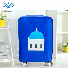 "Promotion Price 4-color Travel Luggages Protective Cover Non-woven Waterproof Suitcase Dustproof Cover for 18""~28"" Trolley Cases"