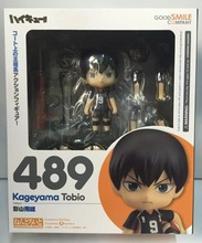 Anime Figure 10 CM Nendoroid Haikyuu!! kageyama Tobio #489 PVC Action Figure Toy Doll Sport Toy(China)