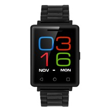 NO.1 G7 2G Smart Phone Watch MTK2502 Corning Gorilla Glass Screen Heart Rate Monitor Bluetooth 4.0 For Andoird and IOS