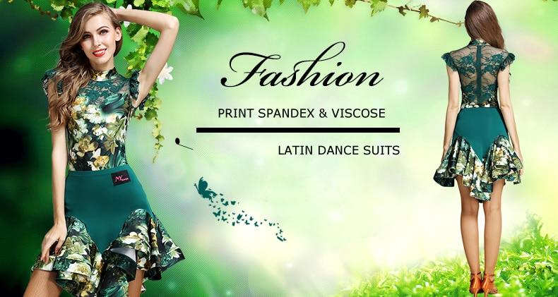 NEW Modern Waltz Tango Smooth Latin Ballroom Competition Dance Dress MY758