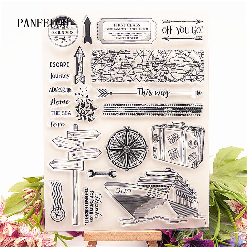 Baby Elements Clear Rubber Stamp Sheet