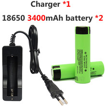18650 Rechargeable Battery 3.7v 3400mah Panasonic Li-ion + 1* 803C Charger Flashlight Power Bank - Shop413849 Store store